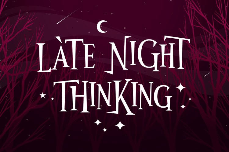 Wonder Night Font