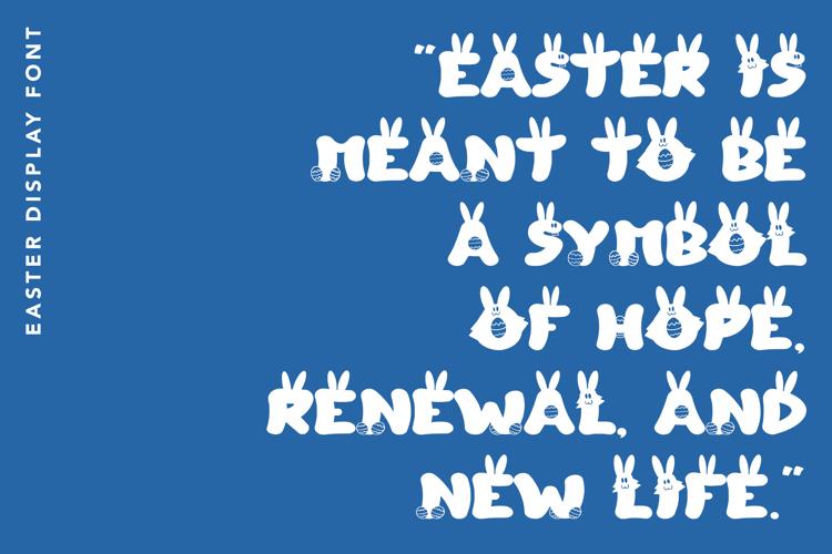 Easter Lover Font