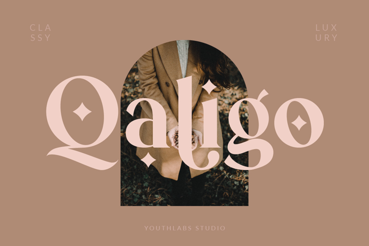 Qaligo Serif Font