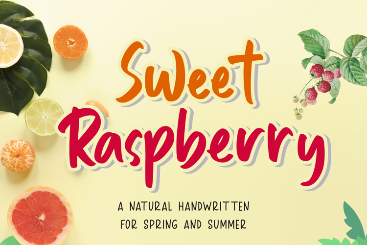 Sweet Raspberry Font