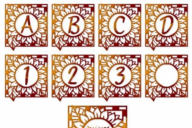 LCR Autumn Sunflowers Font