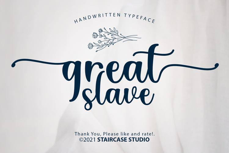 Great Slave Font