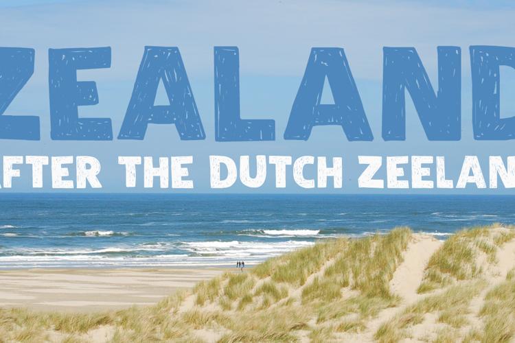 DK Zealand Font