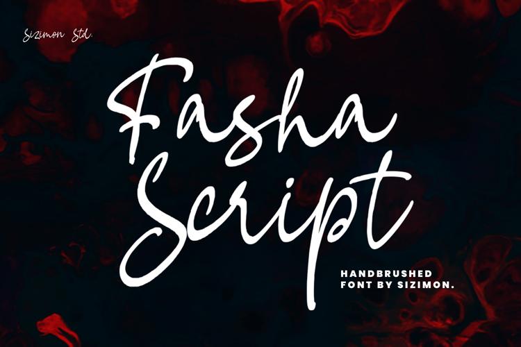 Fasha Script Font
