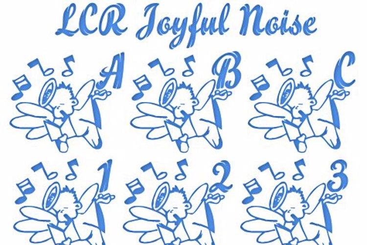 LCR Joyful Noise Font
