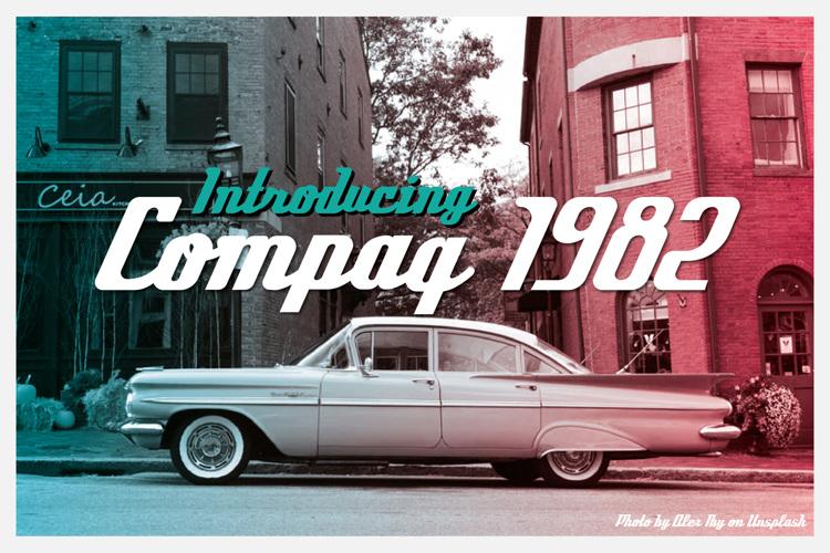 Compaq 1982 Font