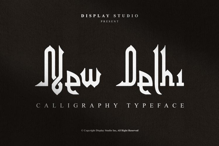 New Delhi Font