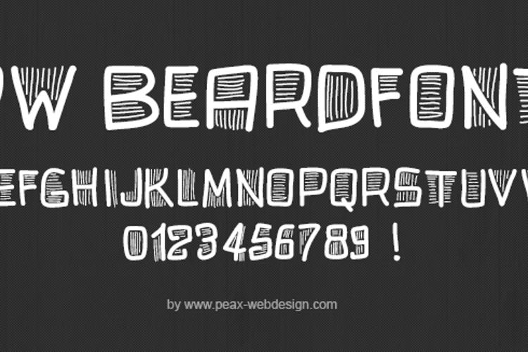 PWBeardfont Font