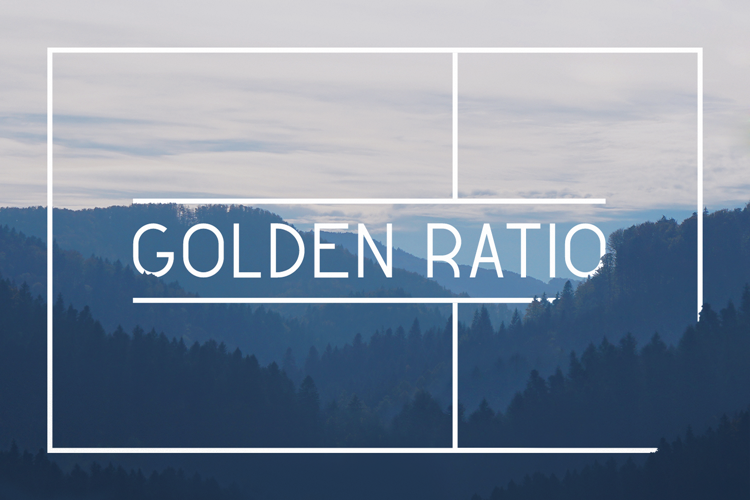 Golden Ratio Demo Font
