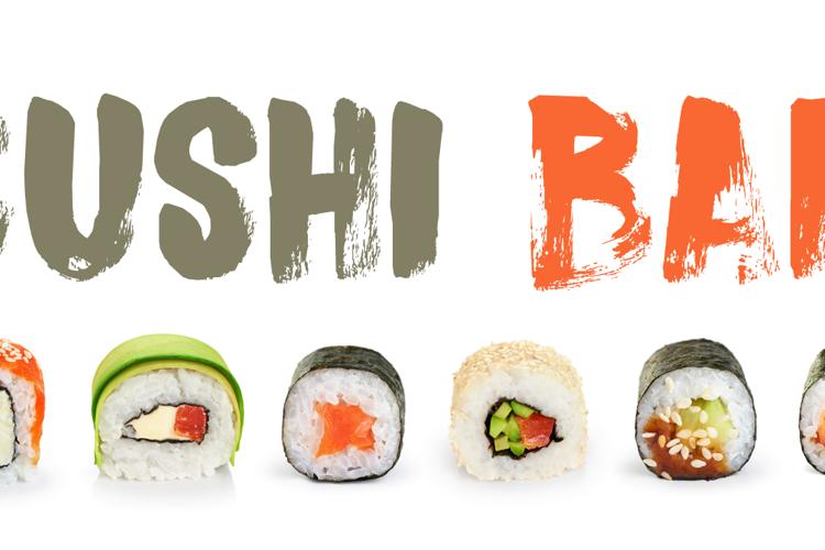 DK Sushi Bar Font