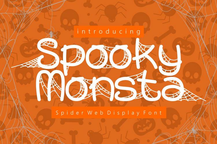 Spooky Monsta Font