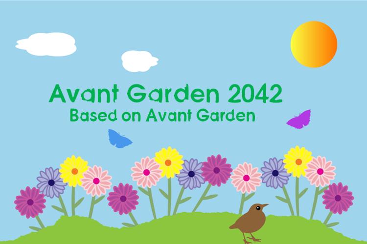 Avant Garden 2042 Font