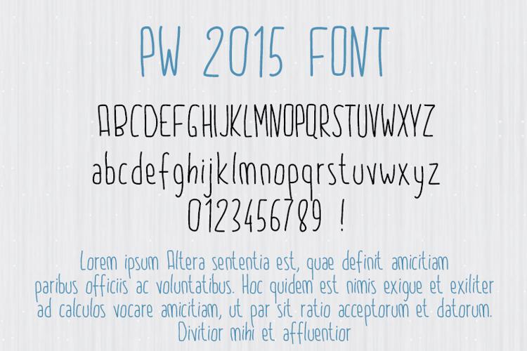 PW2015 Font