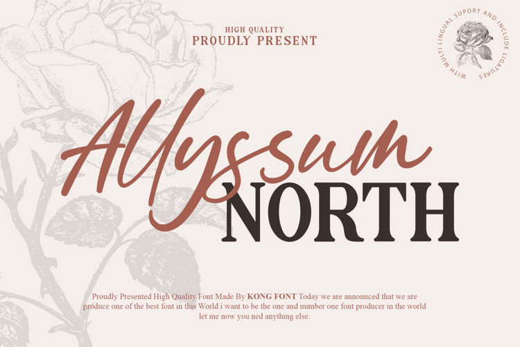 Allyssum Font