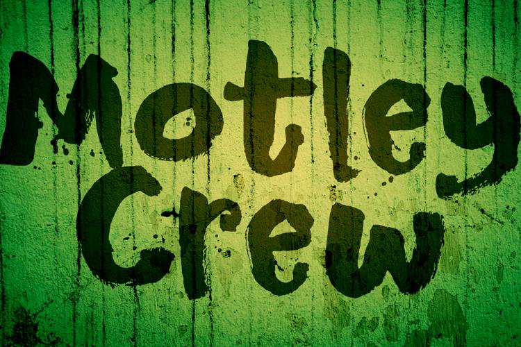 DK Motley Crew Font