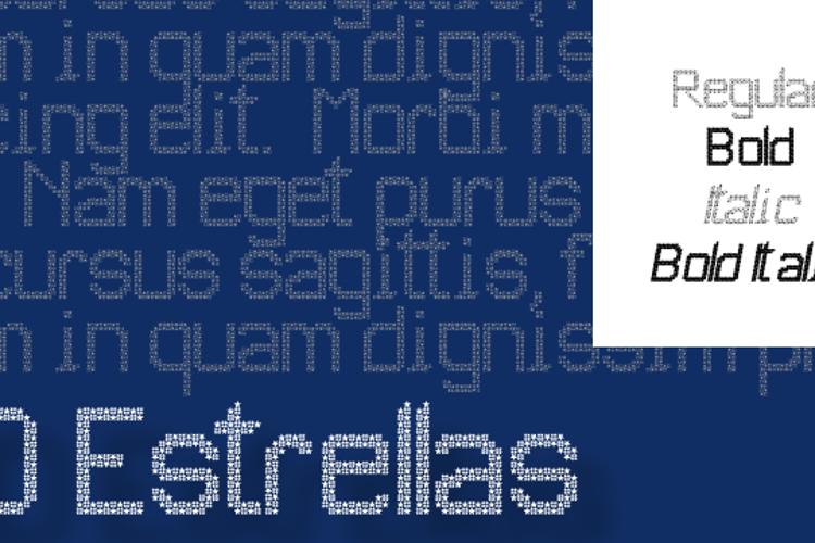 JD Estrellas Font