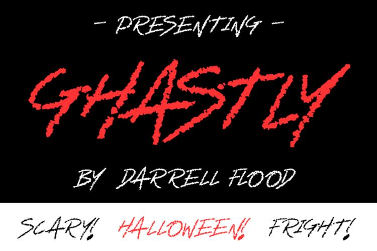 Ghastly Font
