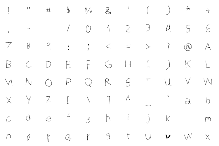 Bored Teenager Font