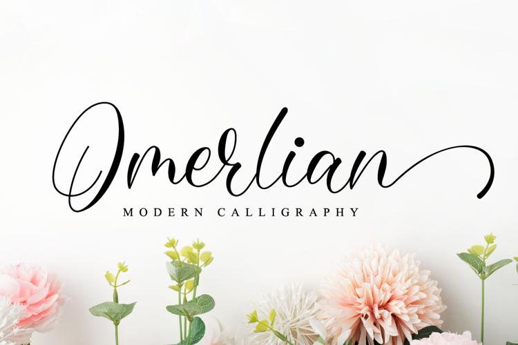 Omerlian Font