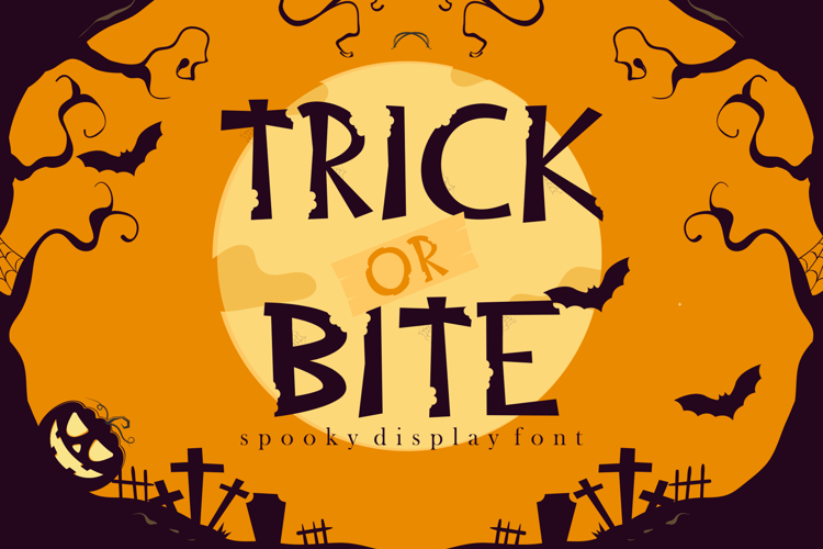 Trick or Bite Font