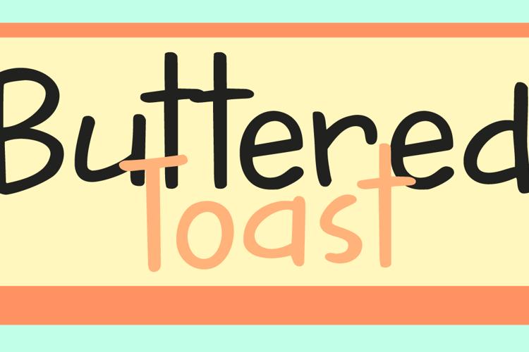 DK Buttered Toast Font
