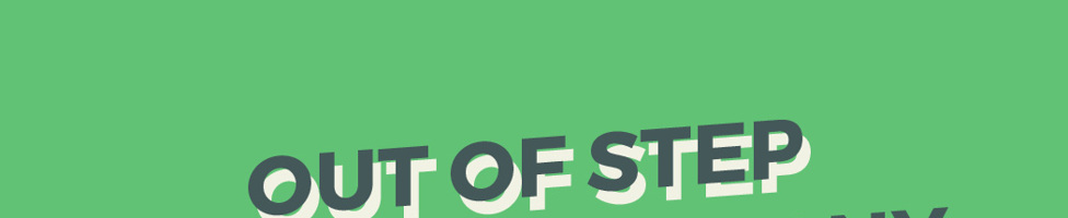 Out Of Step Font Company background