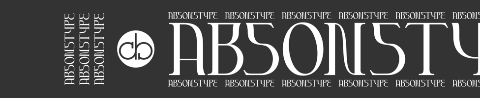 Absonstype background