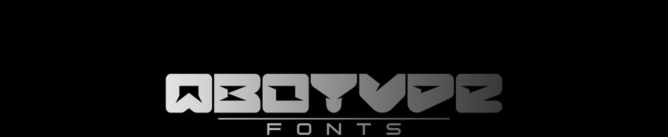 Qbotype Fonts background