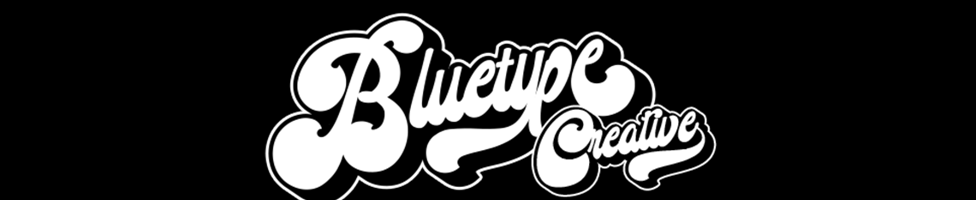 bluetype background