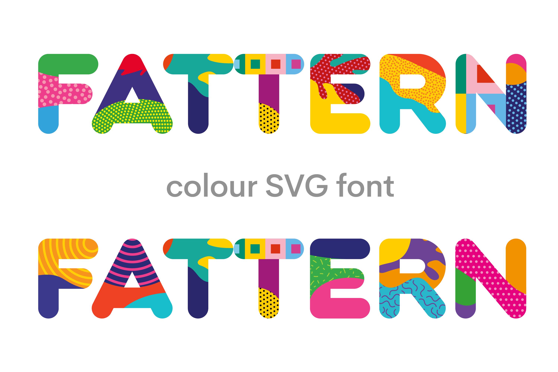 Fattern Font Neogrey Creative Fontspace
