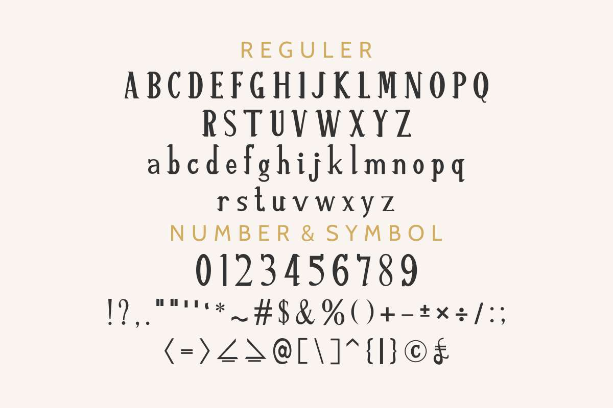 ReSHAWN Font | Edric Studio | FontSpace